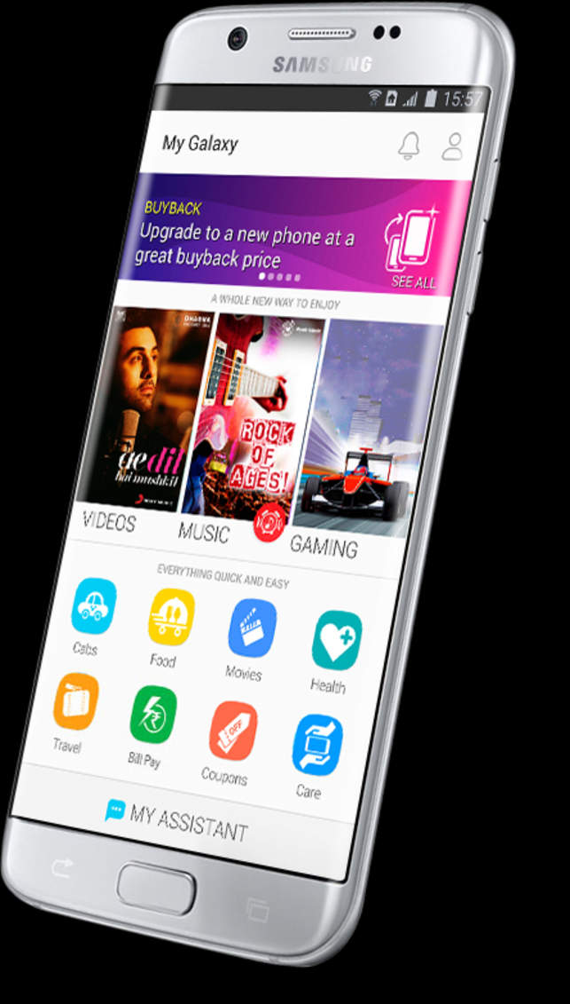 Samsung launches new My Galaxy app - The Economic Times