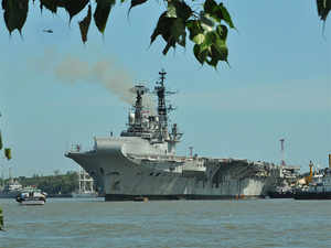 Viraat is expected to be decommissioned by end of this year, after 55 years of service, including 27 years with the Royal Navy.