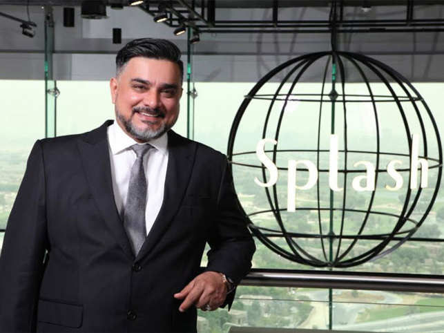 the best attitude a7779 02b26 Splash CEO Raza Beig struck his first business deal at the ...