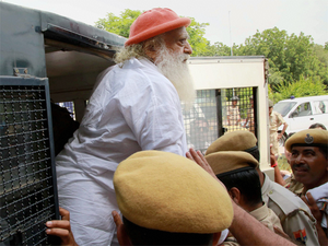 The apex court's direction came after Asaram said he wanted to undergo ayurvedic treatment in Delhi for which he needed one month's interim bail.