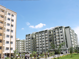 Two-thirds of BDA 's income comes from developing housing sites and apartments.