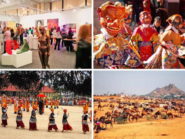 Planning a trip this November? Visit the Nongkrem festival in Shillong or the Mask dance festival in Ladakh