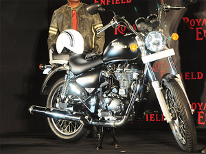 Royal Enfield which has a share of over 95% in 250 cc market and above, says he does not see a major competition from large foreign brands as they sell very limited volumes and though the homegrown players are entering the same price points, but Royal Enfield is seen very differently.
