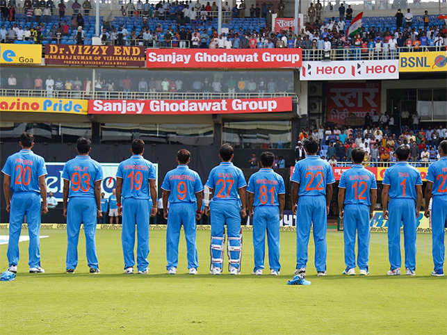 In a first, Indian cricketers sport their mothers' names on jerseys in ODI against New Zealand
