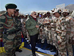 PM Modi mentioned the tremendous response from people across the country, to his appeal for sending messages to soldiers as part of the #Sandesh2Soldiers campaign.