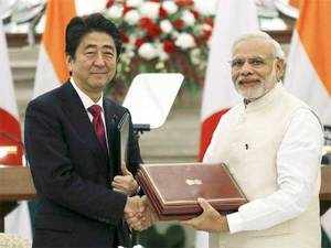 The agreement for the first link was signed in December last year during Japan's Prime Minister Shinzo Abe's visit to Delhi.