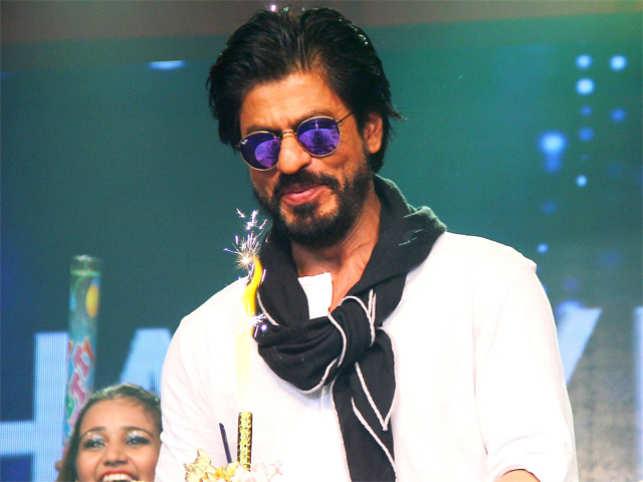 91c62cf236 Shah Rukh Khan celebrating his 50th birthday in 2015.