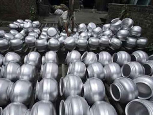 India's annual aluminium consumption is three million tonnes and production capacity is four million tonne.