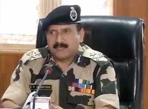 Pakistani forces are also supporting the infiltration of terrorists, said IG BSF D K Upadhyay