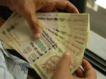 At 9.16 am, the rupee was up by 3 paise at 66.72 against the dollar. Benchmark BSE Sensex was up by 2.31 points at 27,432.59, whereas the Nifty50 was trading 8.40 points down at 8,476.55.