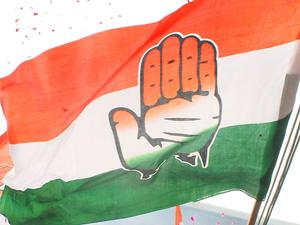 """Several Congress leaders attacked the government over the issue of putting the channel off air and asked if these were the promised """"achhe din"""" (good days) by Modi."""