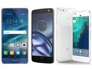 Phone battle: Google Pixel vs Moto Z vs Honor 8