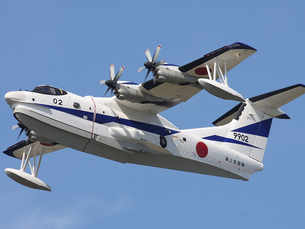 Indian Navy to buy 12 amphibious rescue aircraft from Japan