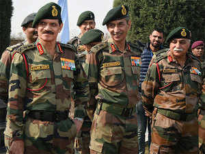Army chief Gen Dalbir Singh Suhag today reviewed the operational preparedness along the northern borders.