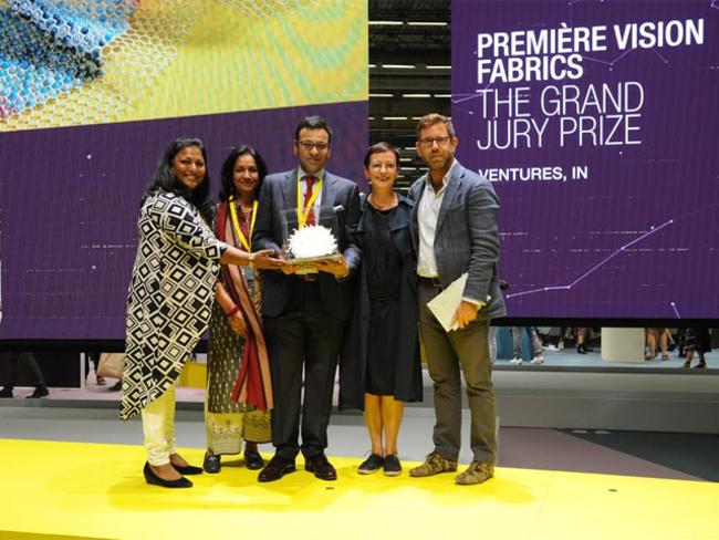 Kolkata Based Ventures Wins Textile Award At Premiere Vision In Paris The Economic Times