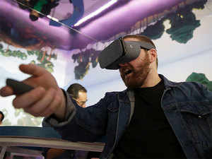 Audiences can watch a film in virtual reality by strapping on a VR headset– Facebook's Oculus Rift, Samsung VR or Google Cardboard are some of the better-known models.