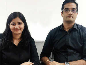 Cofounders Renu Salgarkar and Chaitanya Salgarkar