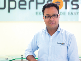 """""""One of the biggest learnings is that people will pay you only if you have a painkiller for them"""",Piyush Agrawal, Co-founder and CEO, SuperProfs."""