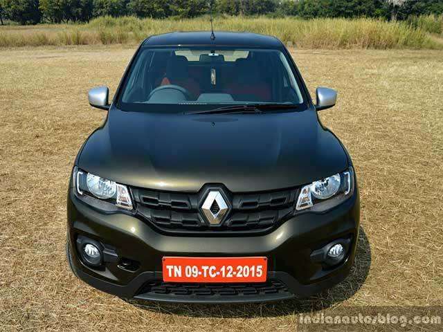 Interior Renault Kwid 10l Amt Launched At Rs 425 Lakh The