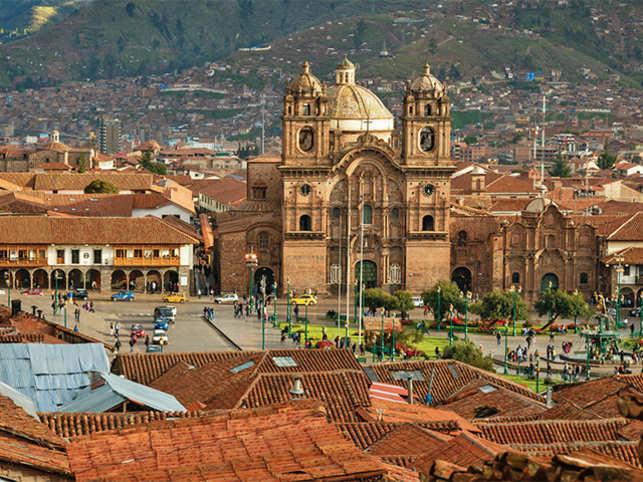 Cusco is popular among tourists as the main gateway city to Machu Picchu.
