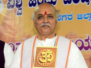 "Asked whether pro-Islamic outfits should be banned, Togadia said: ""No outfit which professes violence has the right to function in a democratic set up."""