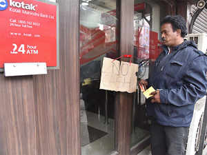 Many branches also reported cash shortages compelling people to return empty handed after waiting in the queue for long.