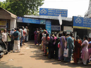 Bank employees across the country have been working through the day since PM Modi announced the withdrawal of Rs500 and Rs1000 notes on November 8.