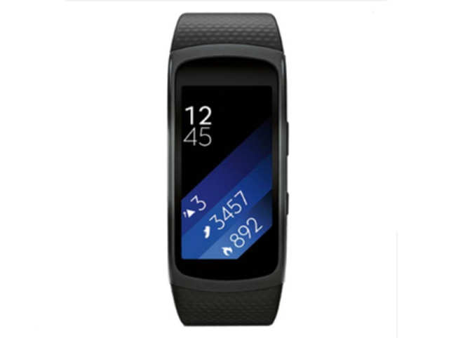 The band shows you notifications from your phone, offers heart rate tracking, add-on apps, a barometer.