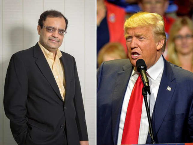 Shah likes to keep a low profile, especially when it comes to talking about businessman and now president-elect Donald Trump.