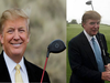 Donald Trump: Playing golf