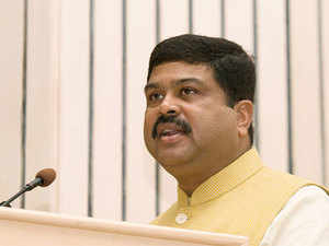 While Oil Minister Dharmendra Pradhan travelled the globe -from Singapore to Houston, to get investors for the first oil field auction round in over four years.