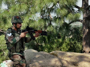 """Pakistani army resorted to heavy cross-border firing in the Rajouri sector, in which four of our soldiers have been injured,"" an army officer said.  Representative Image."