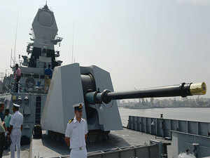 Built at the Mazagon Dock Shipbuilders Ltd in Mumbai, the ship's construction also marks the end of the Project 15A to build Kolkata-class guided missile destroyers.