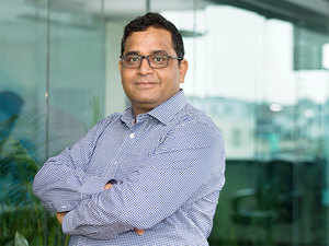 The company is currently doing more transactions than the combined average daily usage of credit and debit cards in India. In pic:  Founder of Paytm, Vijay Shekhar Sharma