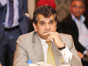In pic: Amitabh Kant, CEO, NITI Aayog   NITI Aayog has also been entrusted the work on the 15-year Vision Document and a seven year strategy which would guide the government's development works till 2030.