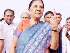 There are such terrorist activities going on, where is the money coming from? ...How much (fake) currencies are being printed? This is damaging the economy. This should have been done and Narendrabhai has done a splendid job, says Anandiben Patel.