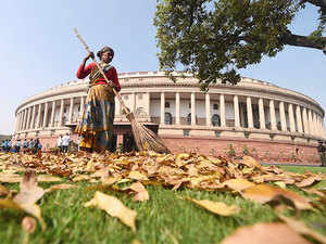 In the Rajya Sabha, Opposition parties unitedly stalled proceedings by maintaining that debate on demonetisation cannot be resumed until the Prime Minister is present in the House.