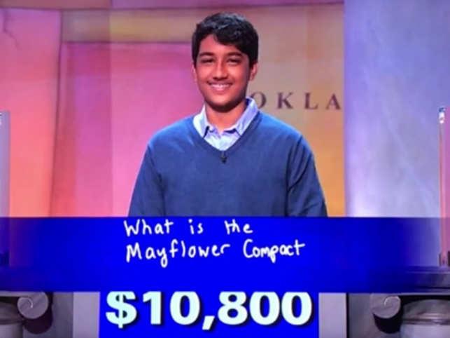 Indian-American teenage boy wins $100K in US quiz show