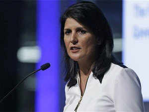 """""""It's a proud moment for all Indian-Americans on President-elect Trump's choice of Governor Nikki Haley as US ambassador to the United Nations."""""""