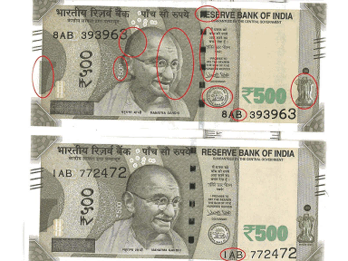Two variants of new Rs 500 note surface, RBI says printing