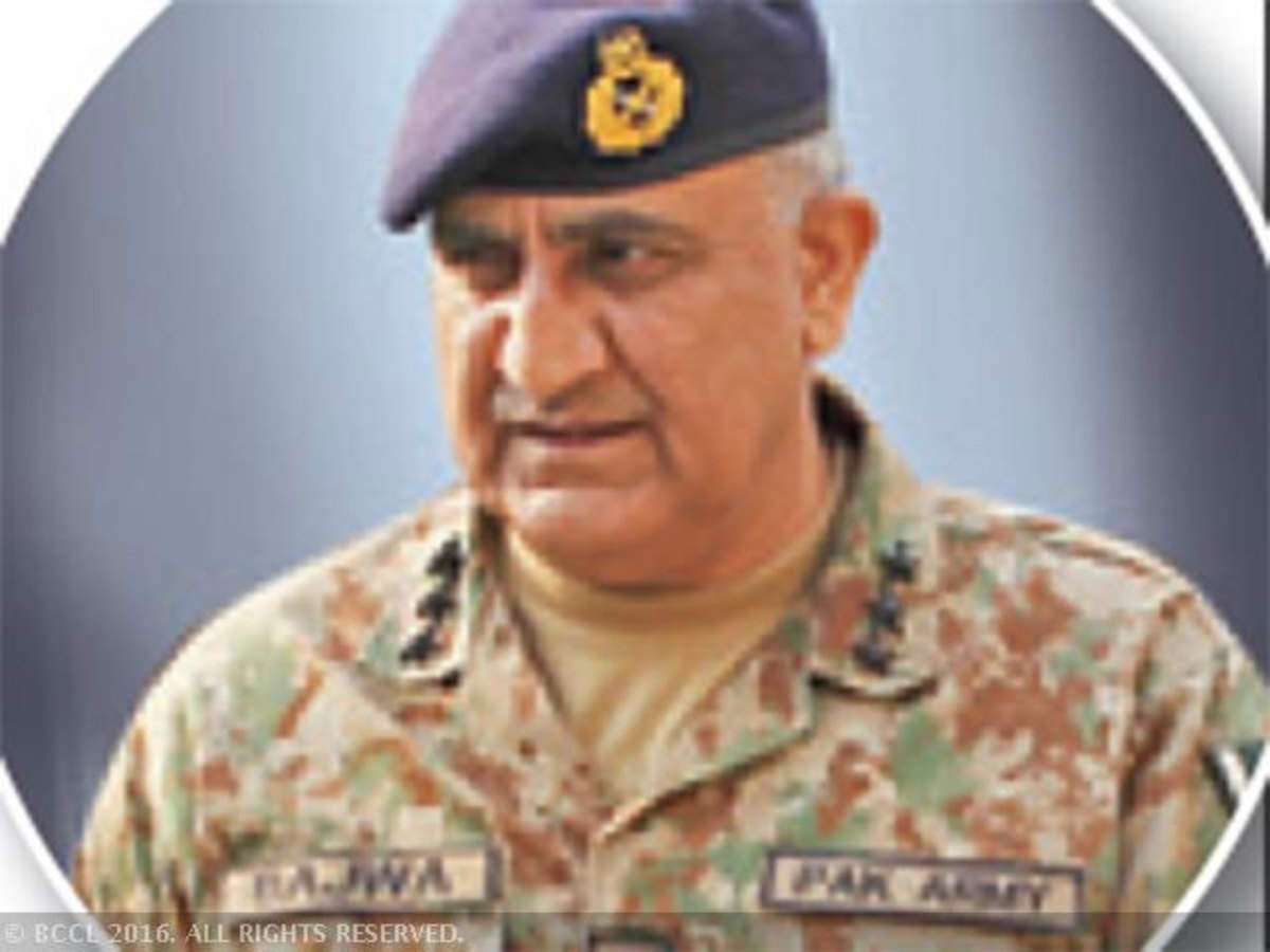 c9c6b2e9 Pakistan Prime Minister appoints new army chief; Qamar Bajwa to head the  5.50 lakh army - The Economic Times
