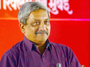 """We always feel safe with cash money...A bank manager was telling me that pensioners rush to the bank on every first of the month...He said the pensioners don't feel satisfied till they count notes,"" Manohar Parrikar said."
