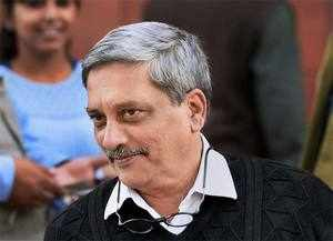 "Without taking any name, Manohar Parrikar said the ""enemy"" is being given befitting reply along the border."