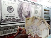 Massive funds outflows in the wake of impending US Fed rate hike and a bullish dollar overseas have hit the rupee sentiment, a forex dealer commented.