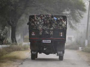 A firefight broke out after BSF troops challenged them, he said, adding that in the initial phase of encounter a jawan suffered minor injuries.