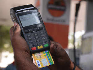 Point of Sale (PoS) devices are used for cashless transactions for making payments. They can also be used for disbursing cash.