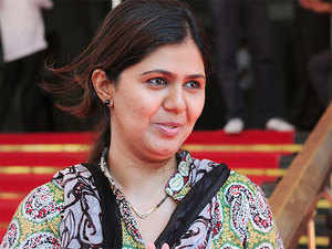 The BJP had to face defeat in Women and Child Welfare Minister Pankaja Munde's Parli municipality where her estranged cousin Dhananjay Munde led the NCP to a clear victory.