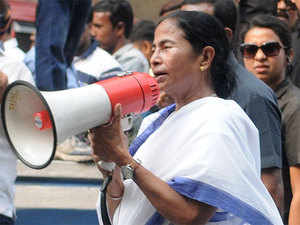 """Vowing to fight till demonetisation is rolled back, Banerjee said, """"The fight against note ban will continue till this decision is revoked as note culling has shut shops, markets and agricultural operations."""""""