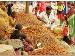 Small traders have had to cough up more for a 60-kg sack of groundnuts, which now sells for anywhere between Rs 5,000-Rs 7,000 compared with the earlier Rs 3,000-Rs 4,000.