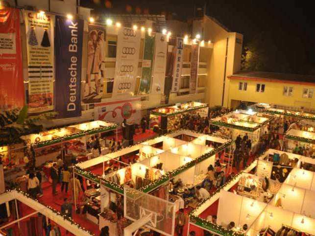 A glimpse of last year's Christmas market.